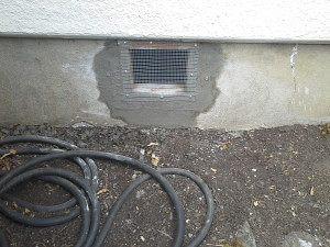 rodent entry exclusion - crawlspace vent repair and replacement - Portland OR - Vancouver WA, Entry Exclusion, Entry Exclusion